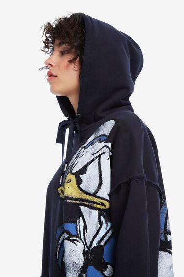 Blue loose Donald Duck sweatshirt | Desigual