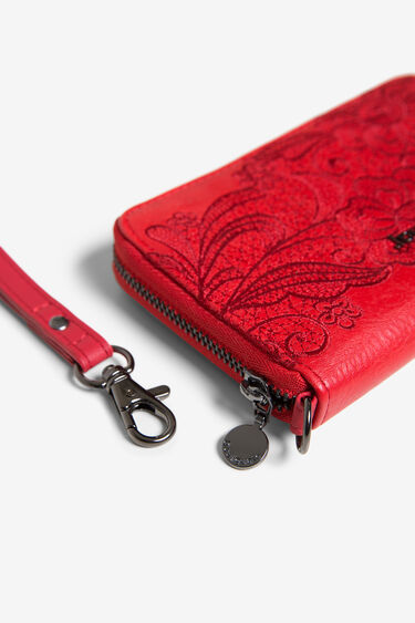Floral coin purse zipper | Desigual
