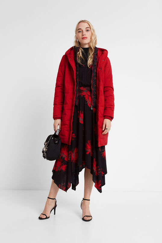 Veste longue padded capuche | Desigual