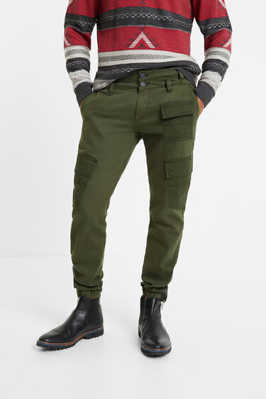 Baggy trousers cargo pockets | Desigual