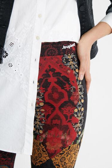 Dopasowane legginsy w stylu boho | Desigual