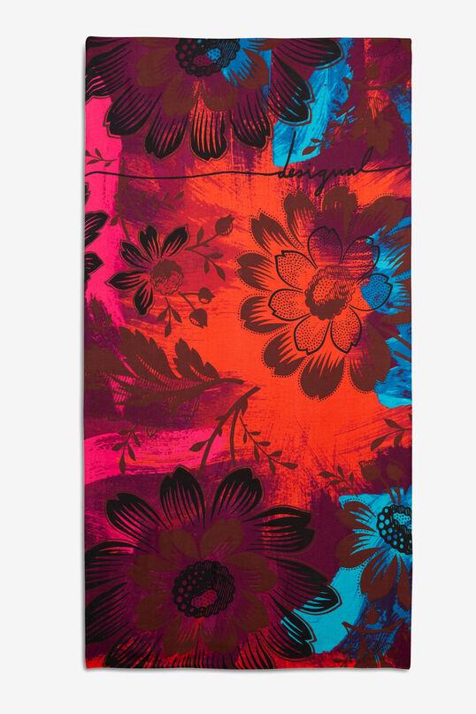 Floral rectangular scarf | Desigual