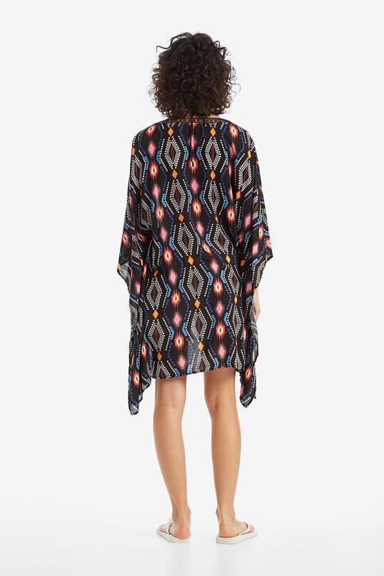 Black Oversize Kimono Shama | Desigual