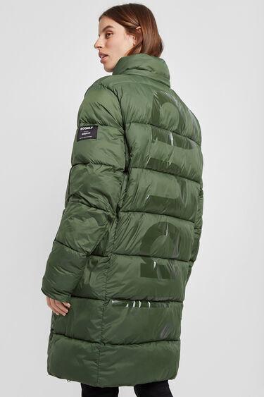 Ecoalf long padded jacket | Desigual