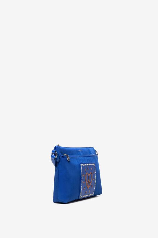 Blue Bag with Heart Durban | Desigual