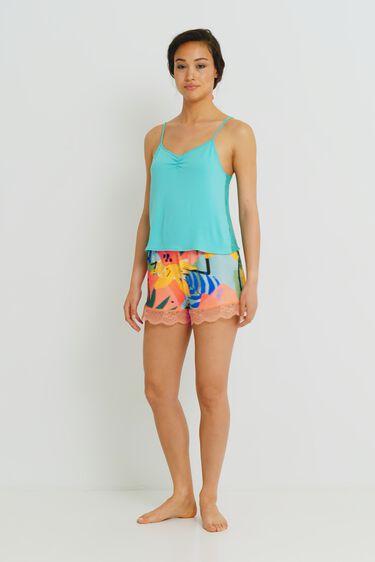 Pyjama tank top T-shirt lace | Desigual