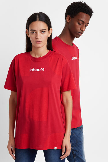 T-shirt Monogram Madrid   Desigual