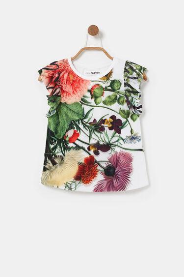 Ruffle-sleeve T-shirt | Desigual