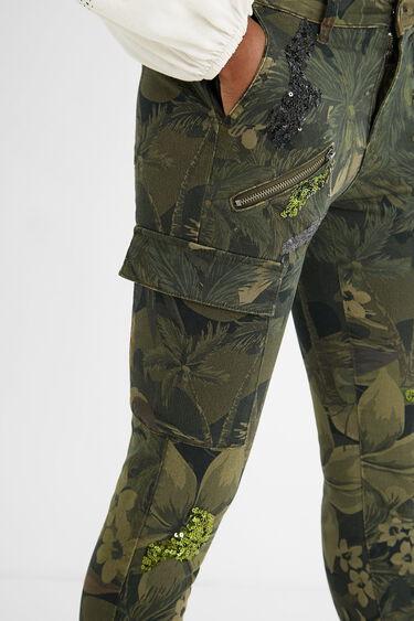 Pantalon skinny cargo | Desigual
