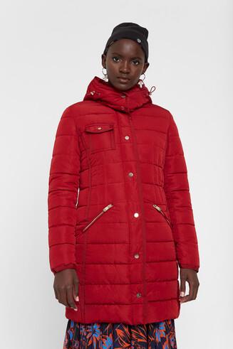 ロングパデッドジャケット