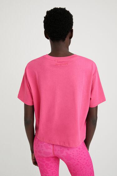 100%コットン レオパード柄Tシャツ | Desigual