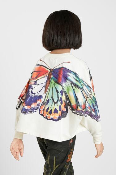 Dessuadora oversize papallona | Desigual