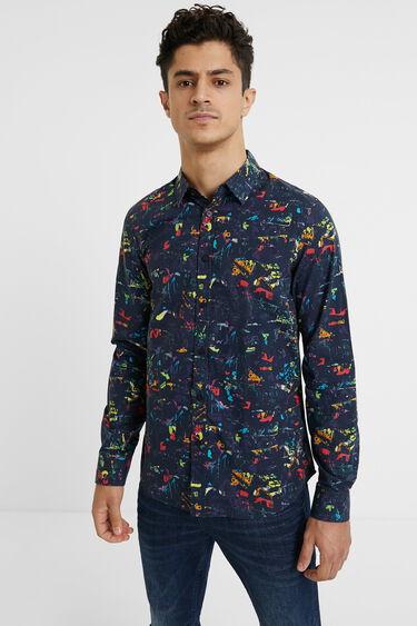 100% cotton arty shirt | Desigual