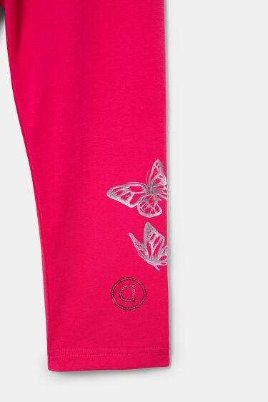 Legging corsaire papillons | Desigual