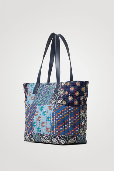 Bossa shopper bag patch | Desigual