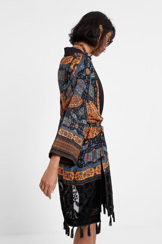 Ethnic tassels kimono | Desigual