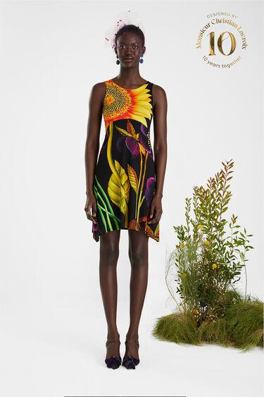 Ärmelloses Kleid angenehmer Stoff | Desigual