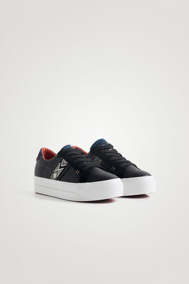 Sneakers suela gruesa étnicas | Desigual