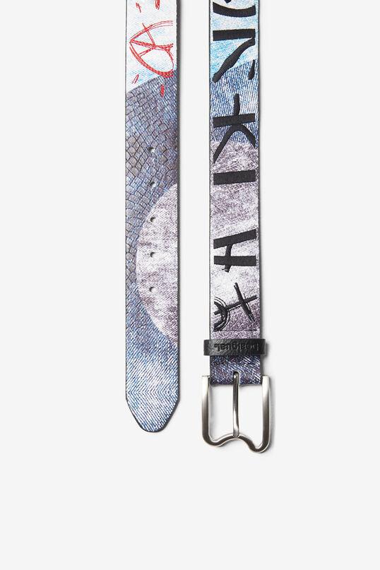 Cinturó print denim | Desigual