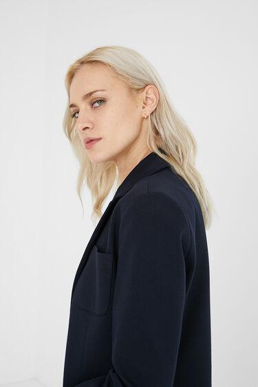 Padded blazer with hood | Desigual