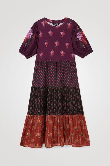 Midi-dress flounces | Desigual