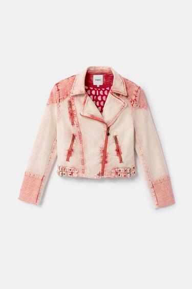 Jean biker jacket | Desigual