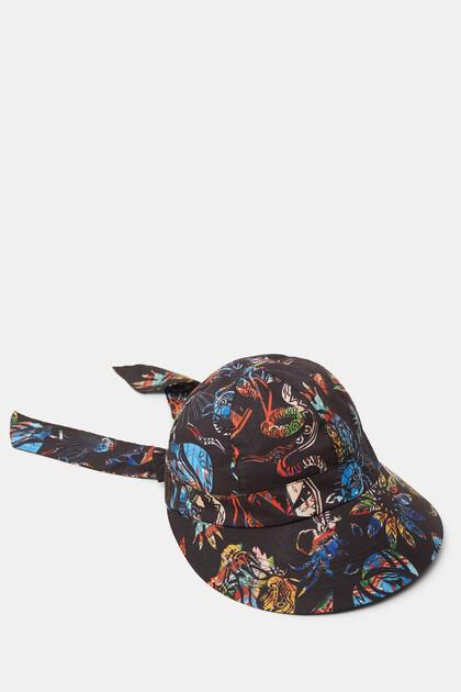 Beach hat bow