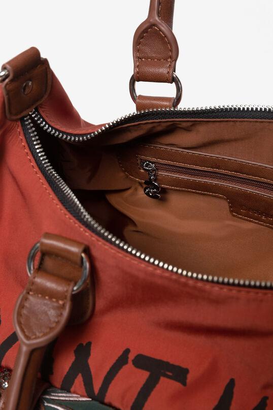Shoulder bag à poches latérales. | Desigual