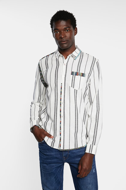 Shirt striped friezes