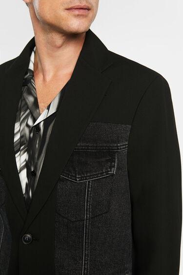 Blazer hybride en jean | Desigual