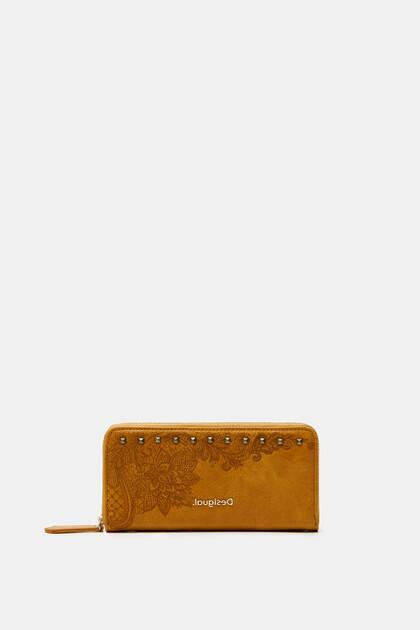 Langwerpige boho-portemonnee