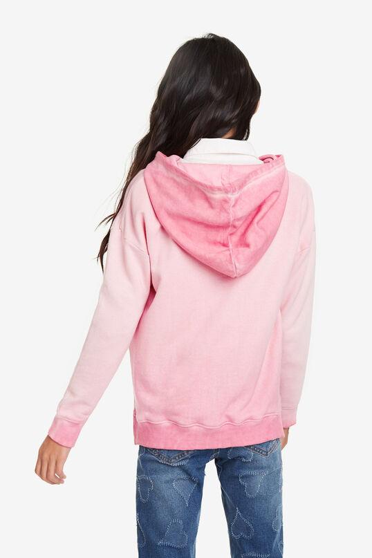 Sweatshirt zipper with hood | Desigual