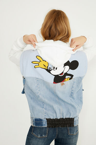 Chaleco Icon denim Mickey Mouse | Desigual