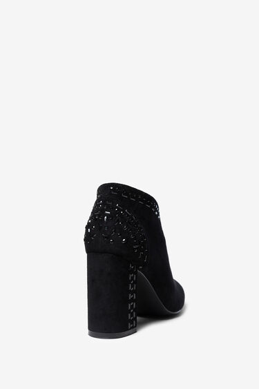 High-heel boot with side zipper | Desigual