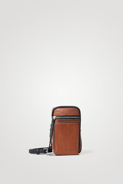 レザー調 ストラップ財布