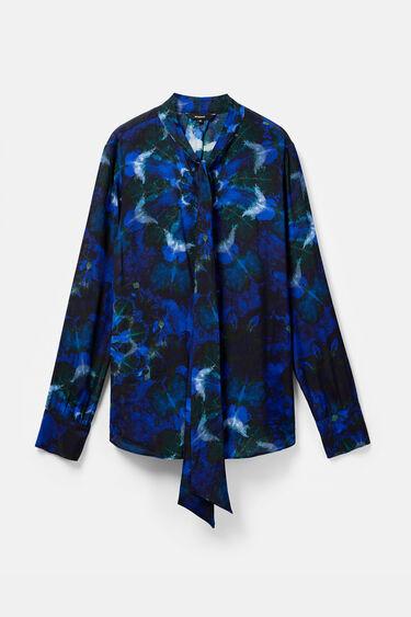 Blouse mandalas tie dye print | Desigual