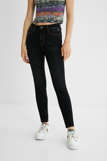Pantalon en jean skinny chevilles