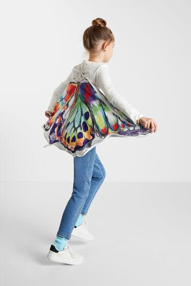 T-shirt capa borboleta | Desigual