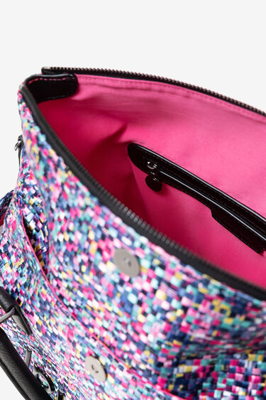 Medium braided bag | Desigual
