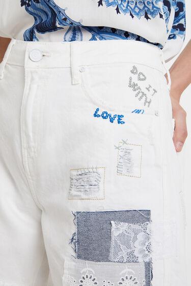 Pantalón short patch | Desigual