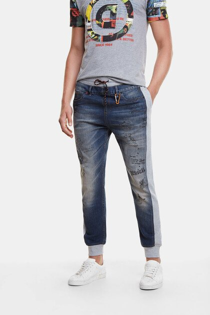Hybrid Jogger and jeans with bolimania