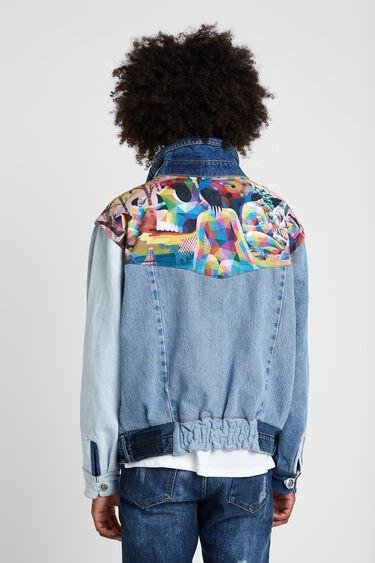 Kurtka Iconic Jacket z motywami autorstwa Okudy San Miguela | Desigual
