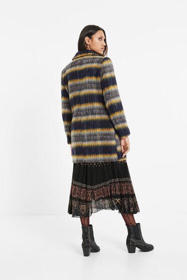 Straight wool coat | Desigual