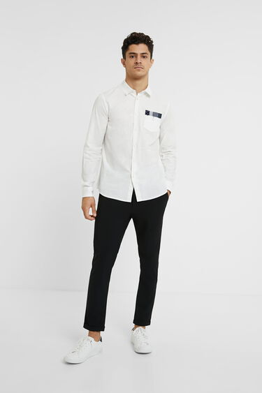 100% cotton basic shirt | Desigual