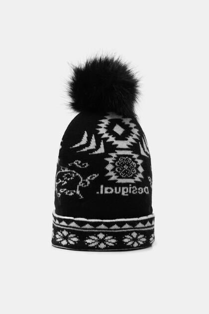 Reversible knit cap