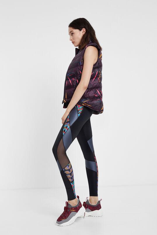 Padded reversible floral vest | Desigual