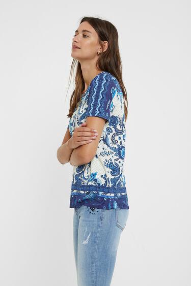 Boho paisley T-shirt | Desigual