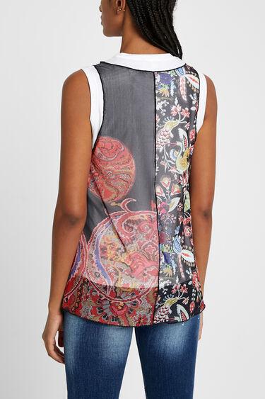 Samarreta multicapa multicolor | Desigual