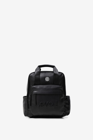 Embroidered LOVE backpack