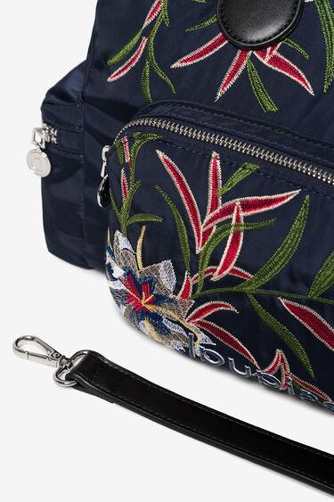 Blumige Tasche mit kleinen Täschchen   Desigual